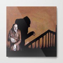 Nosferatu - A Symphony of HORROR! Metal Print