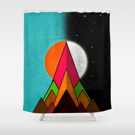 Hustler Day And Night Shower Curtain