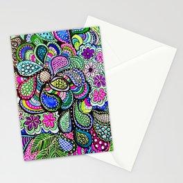 Blue Madness Stationery Cards