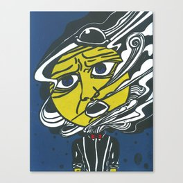 The Man in the Moon Canvas Print