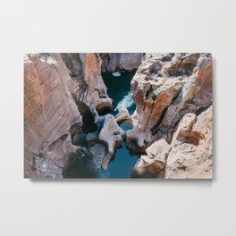 Bourke's Luck Potholes Metal Print