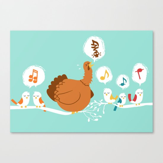 Its a sing along Canvas Print