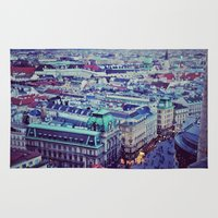 vienna Area & Throw Rugs featuring Vienna by SandraHuezo