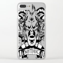 Mythic Minotaur Clear iPhone Case