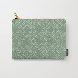 Newmarket in Green Carry-All Pouch