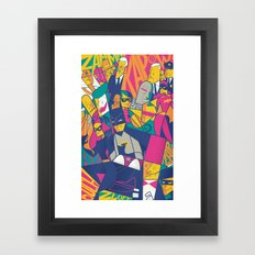 1966 Framed Art Print