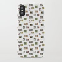 tv iPhone & iPod Cases featuring television by Kelly Tucker