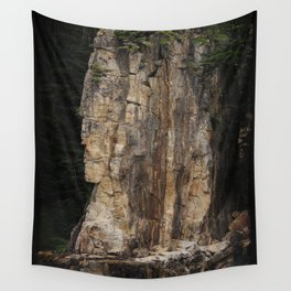 Indian Head Rock - Prince Rupert, BC Wall Tapestry
