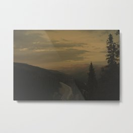The evening of Piere  Metal Print