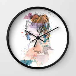 Mountain Head Wall Clock