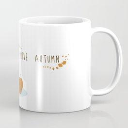 I love Autumm Coffee Mug