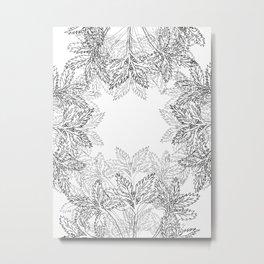 Cinquefoil Plants Metal Print