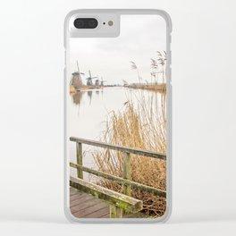 Kinderdijk- Windmills Clear iPhone Case