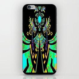 Aztec Malachite Dragon Calender iPhone Skin