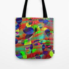 Dots and Curves Tote Bag