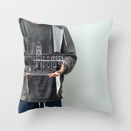 Power Of One Throw Pillow