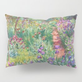 The Iris Garden at Giverny by Claude Monet Pillow Sham