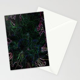 Neon Colours Stationery Cards