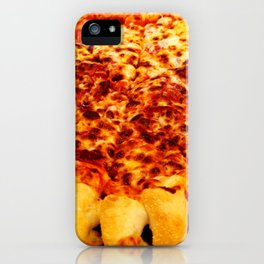 cheese pizza iPhone Case