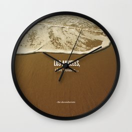 Los Angeles, I'm Yours Wall Clock