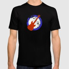 Guitar Mod Mens Fitted Tee Black SMALL