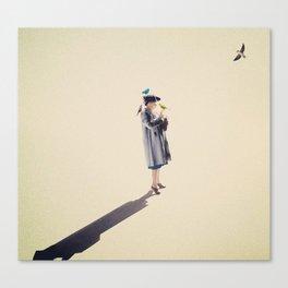The Bird Whisperer Canvas Print