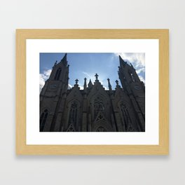 Chiesa in Italia Framed Art Print