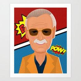 Stan Lee Art Print