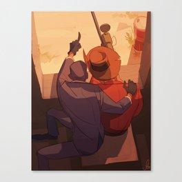Watchtower Canvas Print