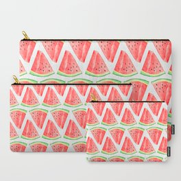 Watermelon Red Piece Carry-All Pouch