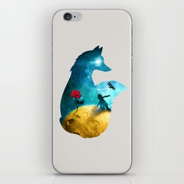 The Most Beautiful Thing (light version) iPhone Skin