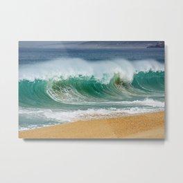 PORTUGAL ... wave I Metal Print