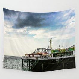 Brighton Pier, Brighton Hove UK Wall Tapestry