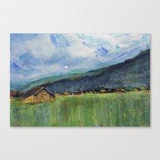 Alpine Trail Canvas Print