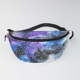 Watercolor Galaxy Fanny Pack