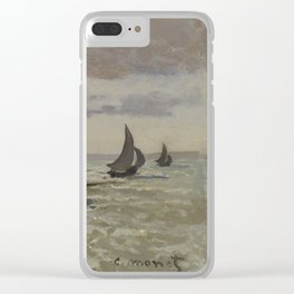 The Seashore at Sainte-Adresse Clear iPhone Case