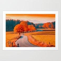 Seasonal Art Print