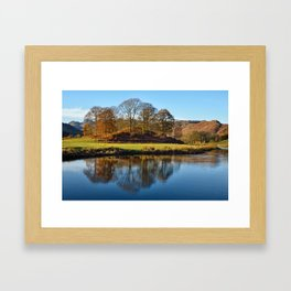 Brathay Reflections Framed Art Print