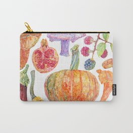 Seasonal Fruits Carry-All Pouch