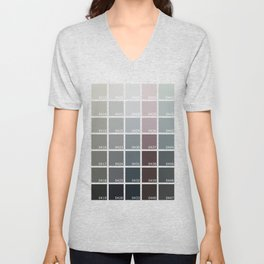 Shades of Grey Pantone Unisex V-Neck