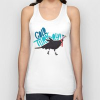 turkey Tank Tops featuring Cold Turkey by Chelsea Herrick