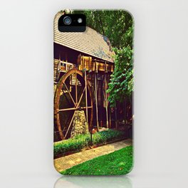 Gristmill - Charlottesville, Virginia iPhone Case