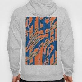 Blaze - Blue and Orange Hoody