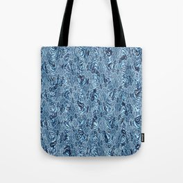 White Water Waves Tote Bag