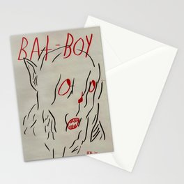 Bat Boy Stationery Cards