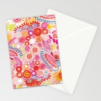 Vibrant summer Stationery Cards