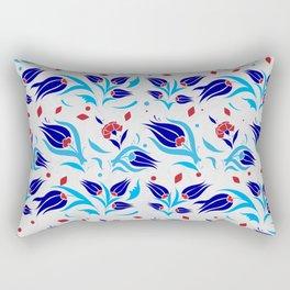 Turkish tulip pattern 7 Rectangular Pillow
