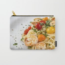 Spaghetti pasta with prawns Carry-All Pouch