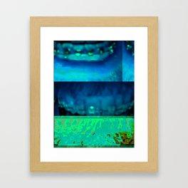 Bent #36: Mouth2 Framed Art Print