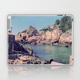 Hidden Coves On Spanish Islands Laptop & iPad Skin